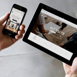 Responsive Design Device Display Mock-Up