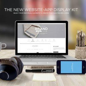 Responsive Web Display Kit Mock-Up