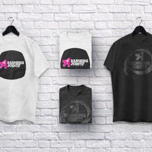 T Shirt Collection Mockup