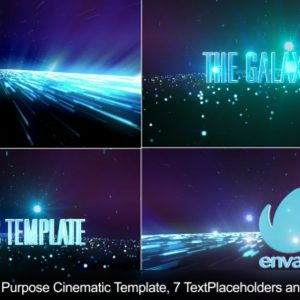 The Galaxy Walk-Cinematic Template-Apple Motion