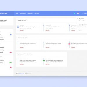 User Dashboard Design