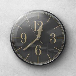 Wall Clock Mockup