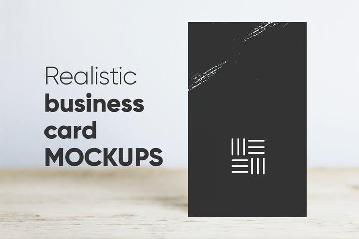 Wodo Business Card Mockups