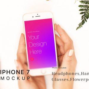 Workspace iPhone 7 Mockup