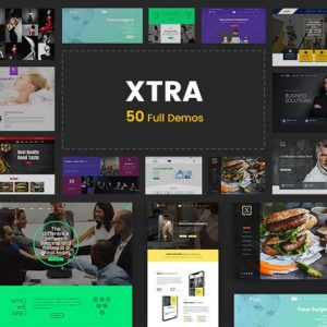 XTRA - Multipurpose WordPress Theme + RTL