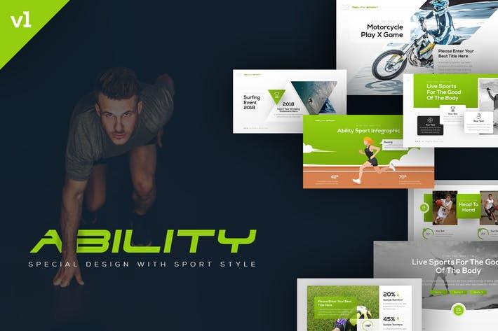 Ability Sports Presentation Template
