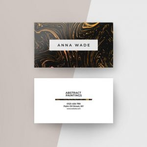 Abstract Business Cards I