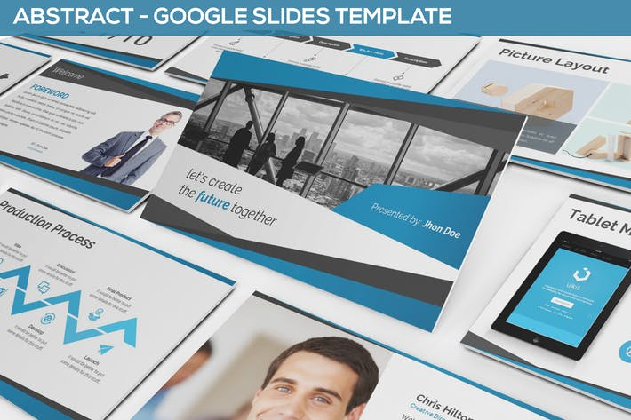 Abstract Google Slides Template