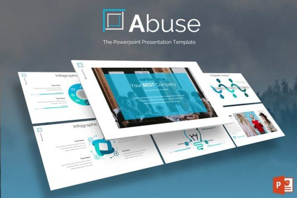 Abuse - Powerpoint Template