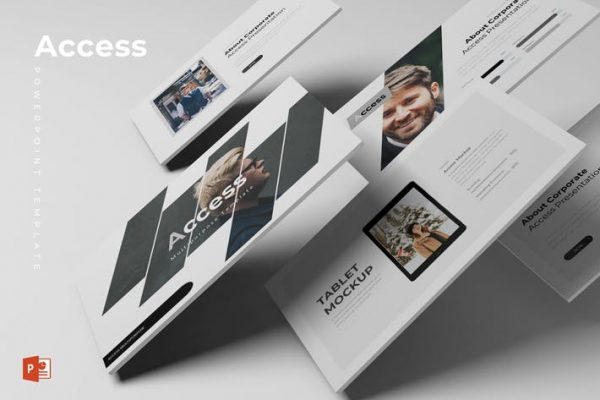 Access - Powerpoint Template