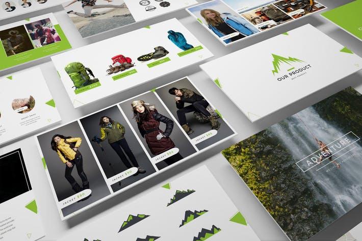 Adventure Shop Google Slides Template