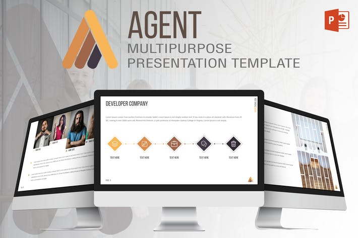 Agent - Powerpoint Template