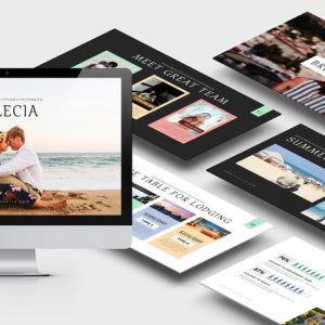 Allecia : Summer Powerpoint Template