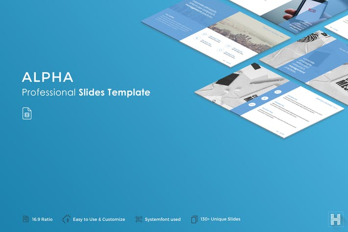 Alpha Slides Template