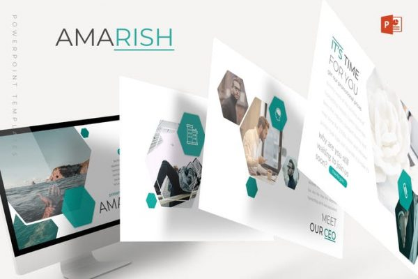 Amarish - Powerpoint Template