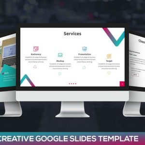 Amiti - Creative Google Slides Template