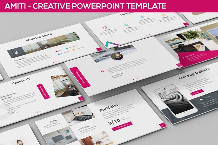 Amiti - Creative Powerpoint Template