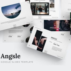 Angsle - Google Slides Template