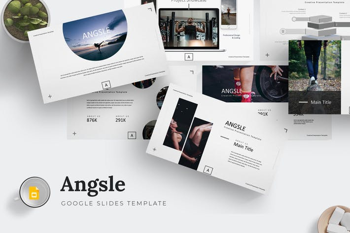 Angsle - Google Slides Template