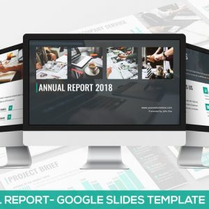 Annual Report - Google Slides Template