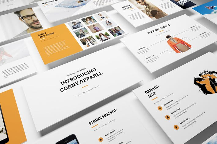 Apparel Product Launching Google Slides Template