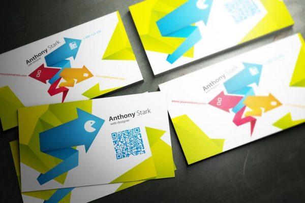 Arrows Business Card Design
