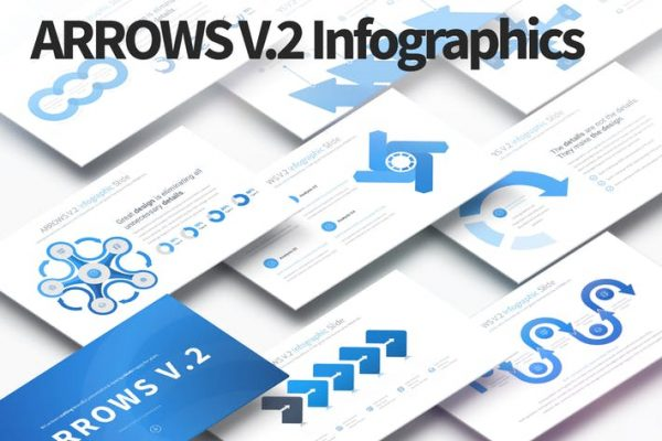 ARROWS V.2 - PowerPoint Infographics Slides