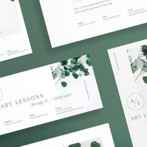 Art Lessons Flyer and Poster Template