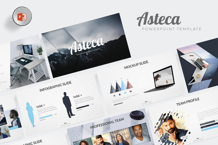 Asteca - Powerpoint Template