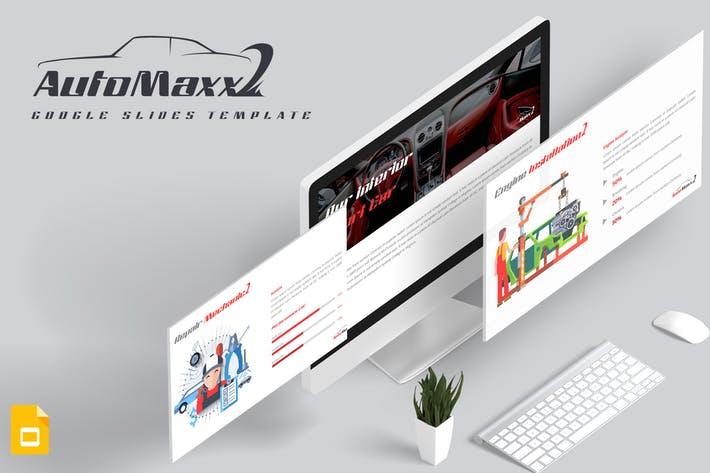 Automaxx Google Slides Template