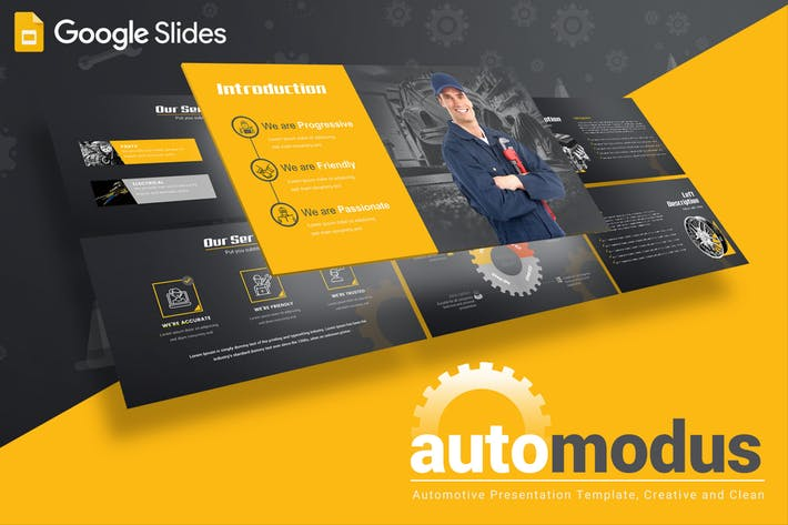 Automodus - Google Slides Template