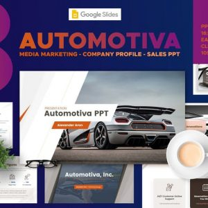 Automotive Media Marketing - Google Slides