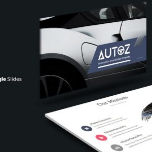 Autoz - Google Slides Template