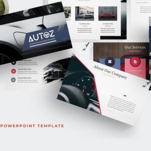 Autoz - Powerpoint Template