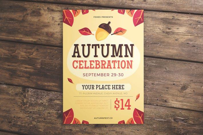 Autumn Celebration Flyer