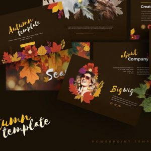 Autumn - Powerpoint Template