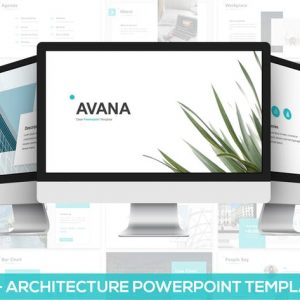 Avana - Architecture Google Slides Template