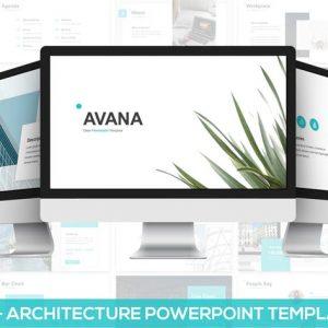 Avana - Architecture Google Slides Template
