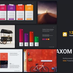 Axom Google Slide Template