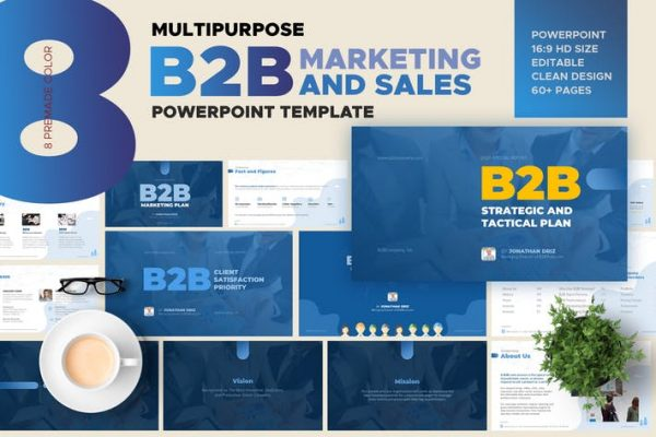 B2B Marketing and Sales Powerpoint