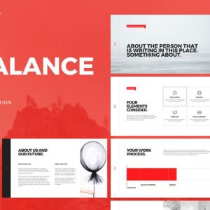 Balance - Powerpoint Template
