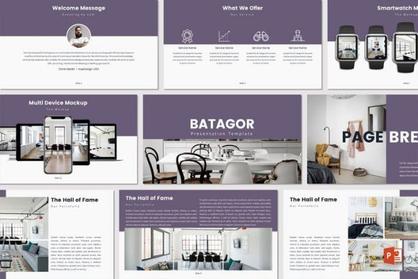BATAGOR - Powerpoint Template