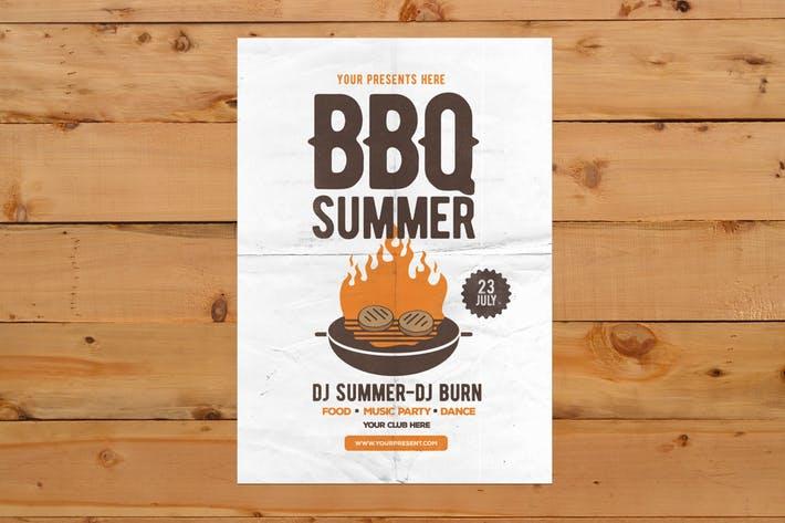 BBQ Summer Flyer
