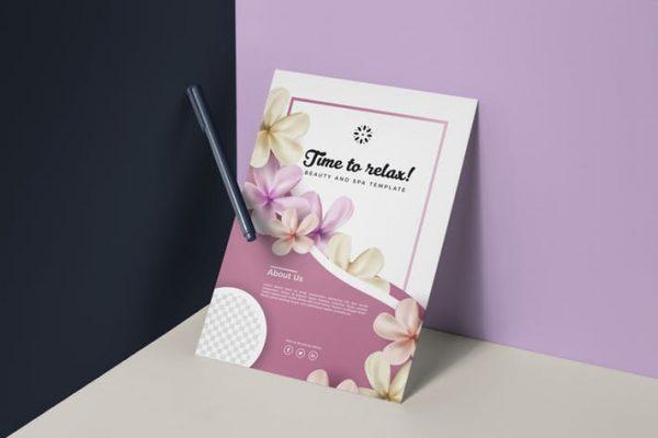 Beauty Spa Flyer Template