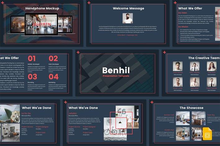 Benhil - Google Slides Template