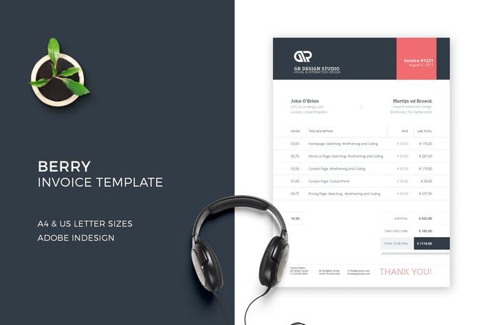 Berry Invoice