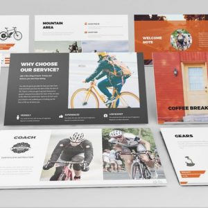 Bicycle Google Slides Presentation Template
