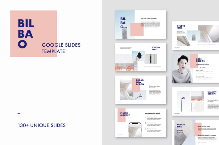BILBAO - Google Slides Presentation Template