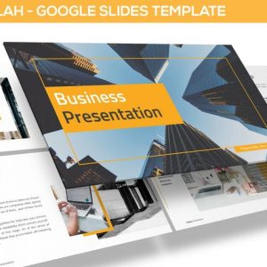 Bizajalah - Business Google Slides Template