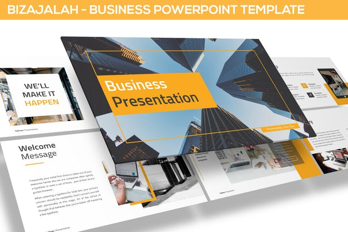 Bizajalah - Business Powerpoint Template